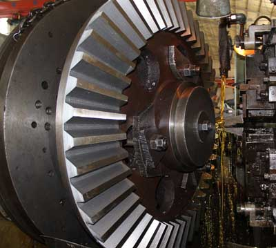 Singapore customers selected the custom straight bevel gears used in automobiles