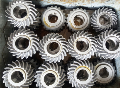 Indian customers purchase the Thermal Power and metallurgical spiral bevel gears