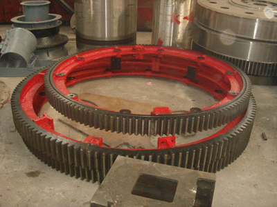 5100mm diameter of the large kiln gear