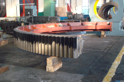3600mm diameter of the large kiln gear