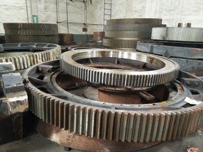 2400mm diameter of the large mill gear