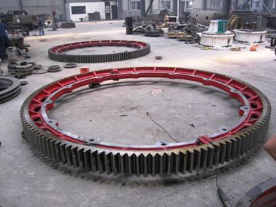 1200mm diameter of the large kiln gear
