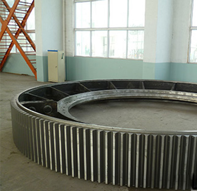 900mm diameter of the large kiln gear