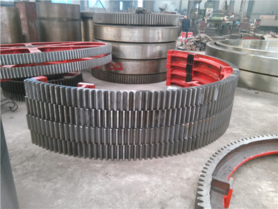 1800mm diameter of the large dryer gear