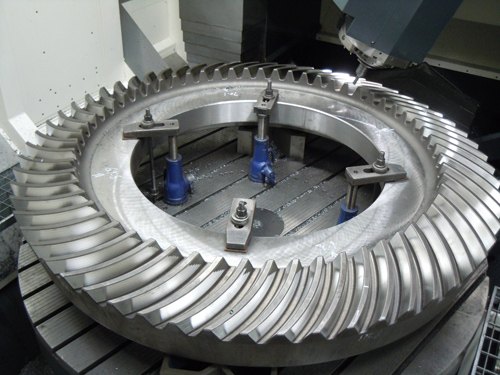 cone crusher bevel gear,Bevel Wheel Gear for Cone Crusher Machine