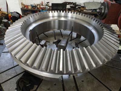 Outside diameter 1300mm straight bevel gear