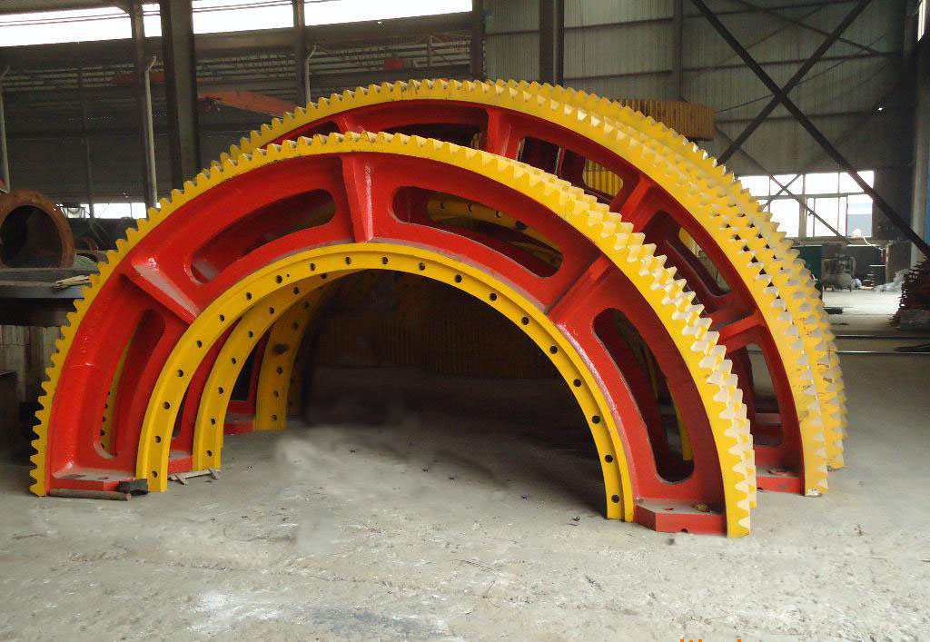 Precision Casting Rotary Kiln Large Ring Gears