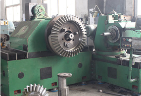 Y2380A conical teeth gear shaping machine